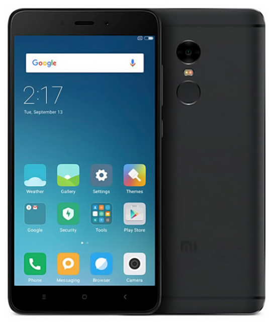 Смартфон Xiaomi Redmi Note 4x 3/16Gb Black Глобальная прошивка ОРИГИНАЛ Гарантия 3 месяца