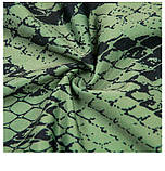 Спортивний костюм жіночий для фітнесу. Комплект лосини і топ для йоги, спорту, тренувань, розмір M (зелений), фото 10