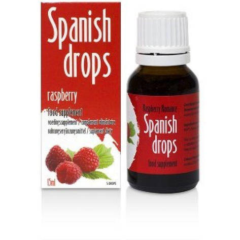 Возбуждающие капли Spanish Drops Raspberry Romance (15ml), фото 2