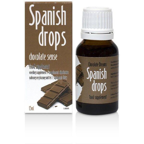 Возбуждающие капли Spanish Drops Chocolate Sense (15ml)