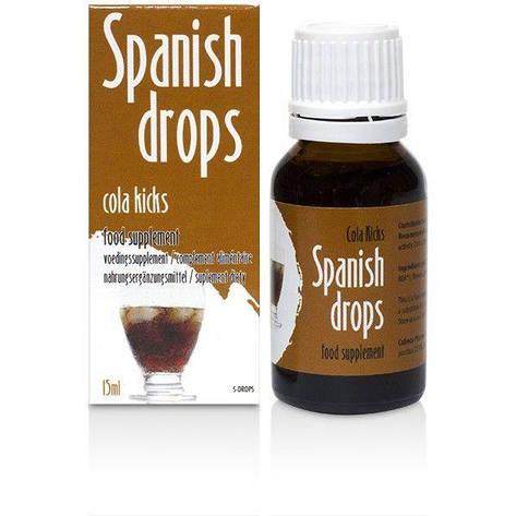 Возбуждающие капли Spanish Drops Cola Kicks (15ml), фото 2