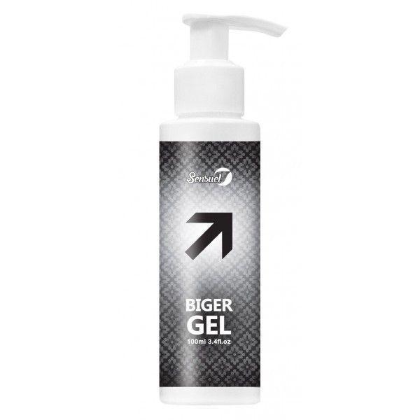 Распродажа! стимулирующий гель sens/ biger gel 100ml