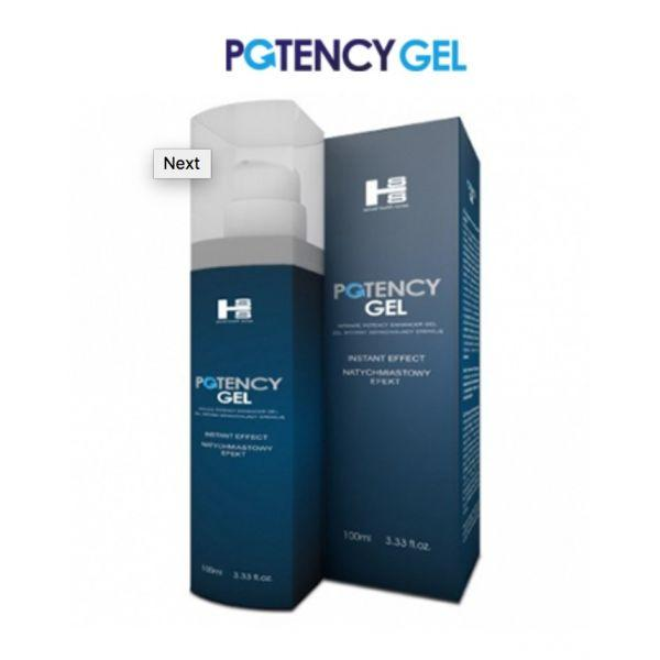 Гель для потенции Potency Gel 100 ml