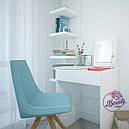 Туалетный столик для макияжа с зеркалом, белый, фото 2