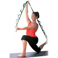 Лента для растяжки (стретчинга) эластичная Stretch Strap 8 петель 174 см OSPORT (MS 1562)