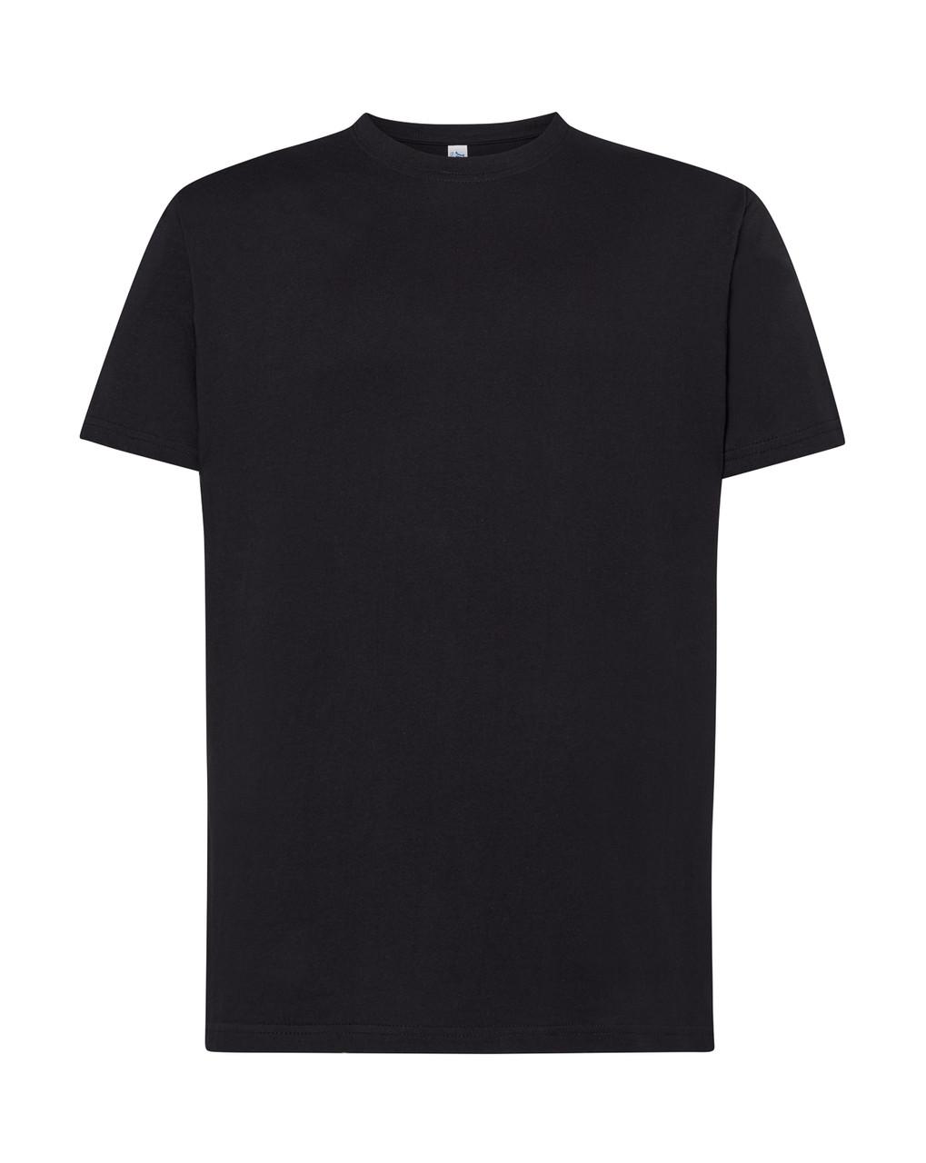 Мужская футболка JHK REGULAR PREMIUM T-SHIRT цвет черный (BK)