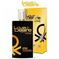 Феромоны для женщин Love&Desire Gold woman - 100ml