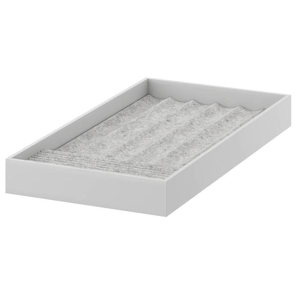 Вставка для украшений IKEA KOMPLEMENT светло-серый 25x53x5 см 304.040.28