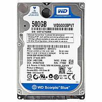 "Жесткий диск для ноутбука 2.5"" 500GB Western Digital (#WD5000BPVX#)"