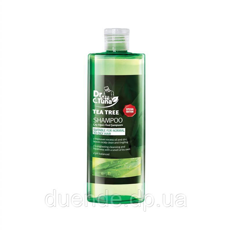 15+ Шампунь с экстрактом чайного дерева Dr. Tuna Farmasi пр-ва Турция 225 мл - 2,48 ББ / Far - 1108170