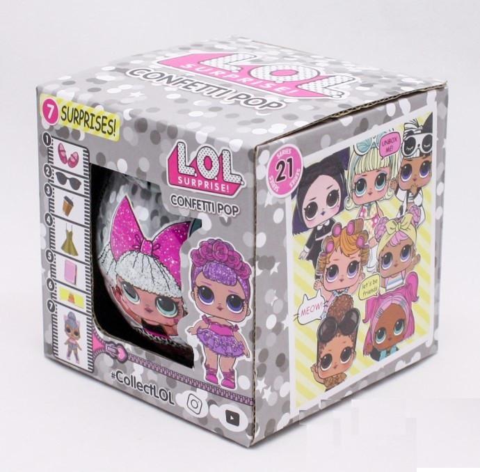 Кукла сюрприз ЛОЛ Конфети L.O.L. LOL Surprise