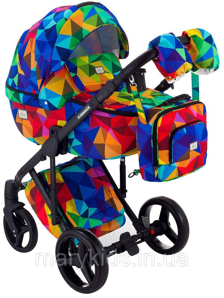 Детская универсальная коляска 2 в 1 Adamex Luciano Y123