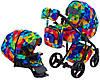 Детская универсальная коляска 2 в 1 Adamex Luciano Y123, фото 5