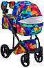 Детская универсальная коляска 2 в 1 Adamex Luciano Y123, фото 4