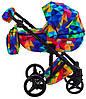 Детская универсальная коляска 2 в 1 Adamex Luciano Y123, фото 7