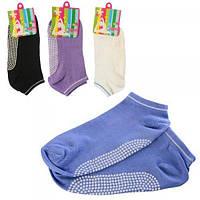 Носки для йоги (фитнеса) и спорта безразмерные Profi (MS 2473)
