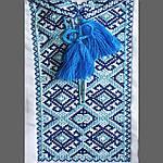 """Вышиванка детская для мальчика """"Грицько"""" с Синей вышивкой, 122 (рост), фото 3"""