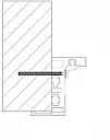 Алюминиевая коробка  Z - образная (с наличником), фото 4