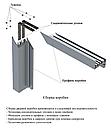 Алюминиевая коробка  Z - образная (с наличником), фото 3