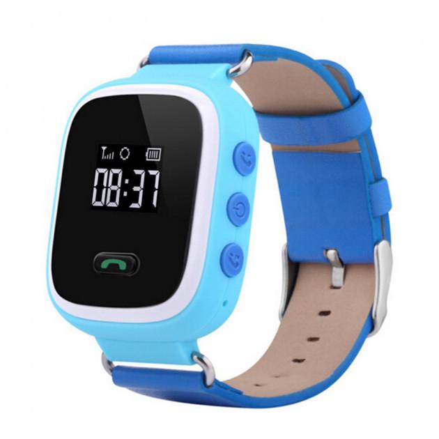 Детские умные часы Smart Baby Watch Q60 GPS Синие