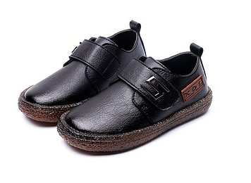 Дитячі туфлі Дитячі мокасини Дитячі мокасини хлопчик Дитячі мокасини чорні Туфлі дитячі для хлопчика