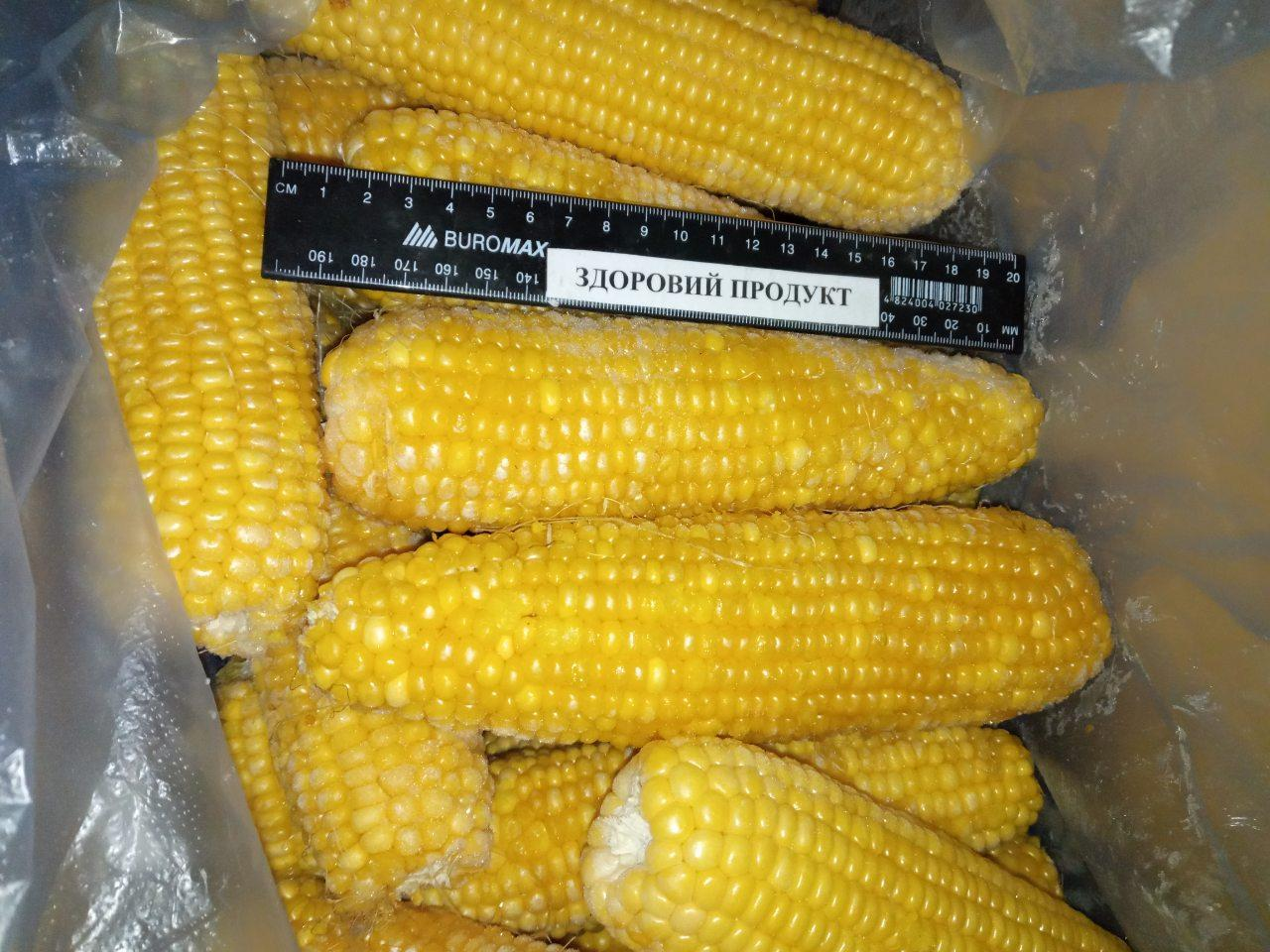 Кукуруза в початках бланшированная от 2кг