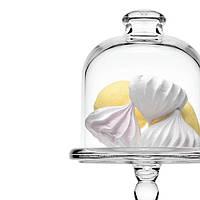 Бонбоньерка и стеклянный Колпак Клош Pasabahce  198мм Patisserie 96632 (1шт)