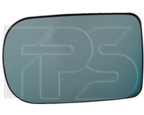 Вкладыш бокового зеркала BMW 7 E38 94-02 левый