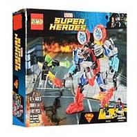 "Конструктор 90011A (Аналог Lego Super Heroes) ""Робот Супермена"" 102 детали"