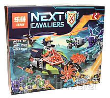 """Конструктор Lepin 14032(Аналог LegoNexo Knights 70358) """"Слайсер Аарона"""" 281 деталь"""