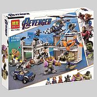 """Конструктор Bela 11262 (Аналог Lego Super Heroes 76131) """"Битва на базе Мстителей"""" 723 детали"""