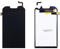 Дисплей (экран) Doogee S30 с тачскрином в сборе, черный