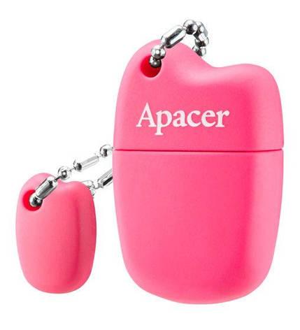 Флеш USB 2.0 Apacer AH118 16GB Pink (AP16GAH118P-1), фото 2