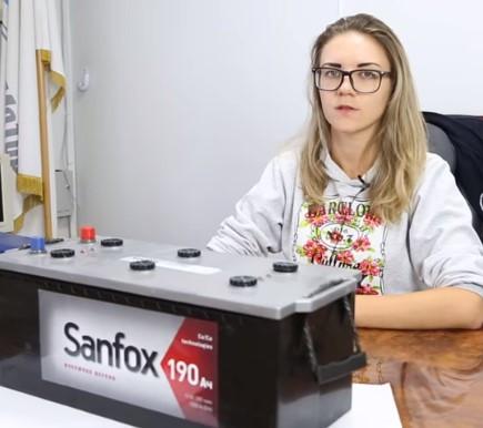 Аккумулятор SANFOX 6CT 60Ah [–|+]