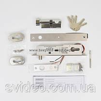 Ригельный замок YB-500C(LED) врезной для системы контроля доступа, фото 3