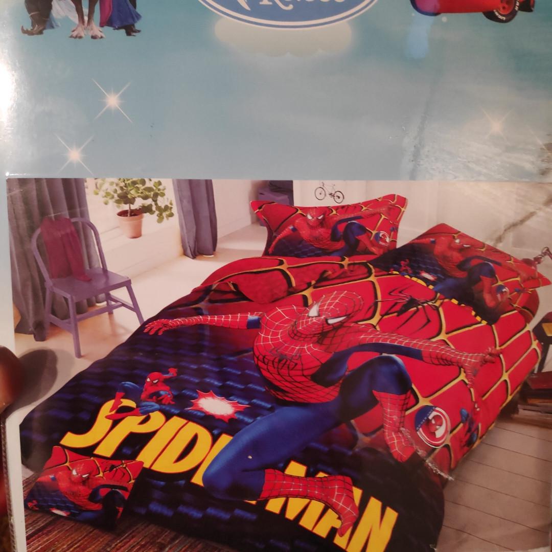 Детское постельное бельё Человек Паук