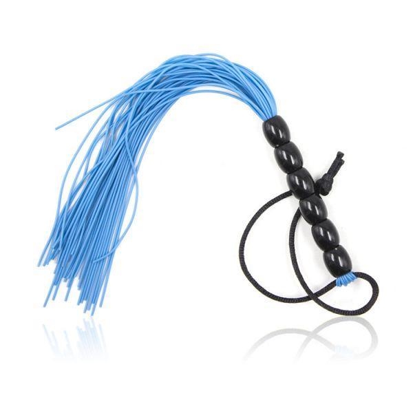 Голубая резиновая плеть