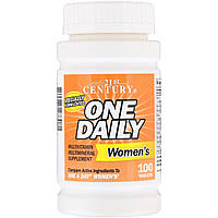 Витамины для женщин 21st Century One Daily Multivitamin for Womens (100 таб)