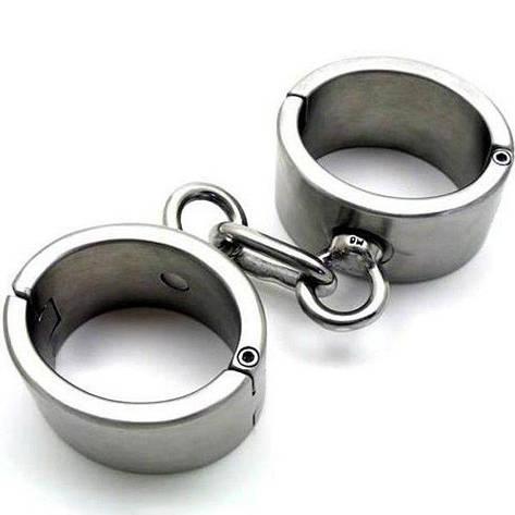 Женские наручники из нержавеющей стали, фото 2