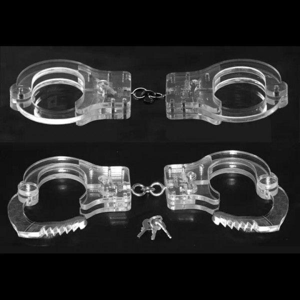 Женские прозрачные наручники