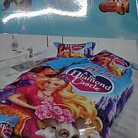 Детское постельное бельё Барби
