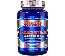 Л-карнитин All Max Nutrition L-Carnitine Tartrate (120 капс) аллмакс