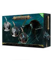 Вархаммер Эпоха Сигмара Ночные Охотники и набор красок (Warhammer Age of Sigmar Nighthaunt Paint Set) настольная игра