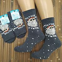 Мужские новогодние носки с махрой ТОП ТАП Житомир 25-27( 39-42) НМЗ-040477, фото 1