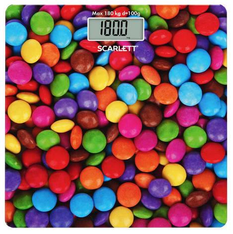 Весы напольные электронные Scarlett SK-BS33E096 180 кг Стеклянные (квадратные, с рисунком), фото 2