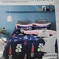 Двуспальное постельное бельё из сатина (100 % хлопок)