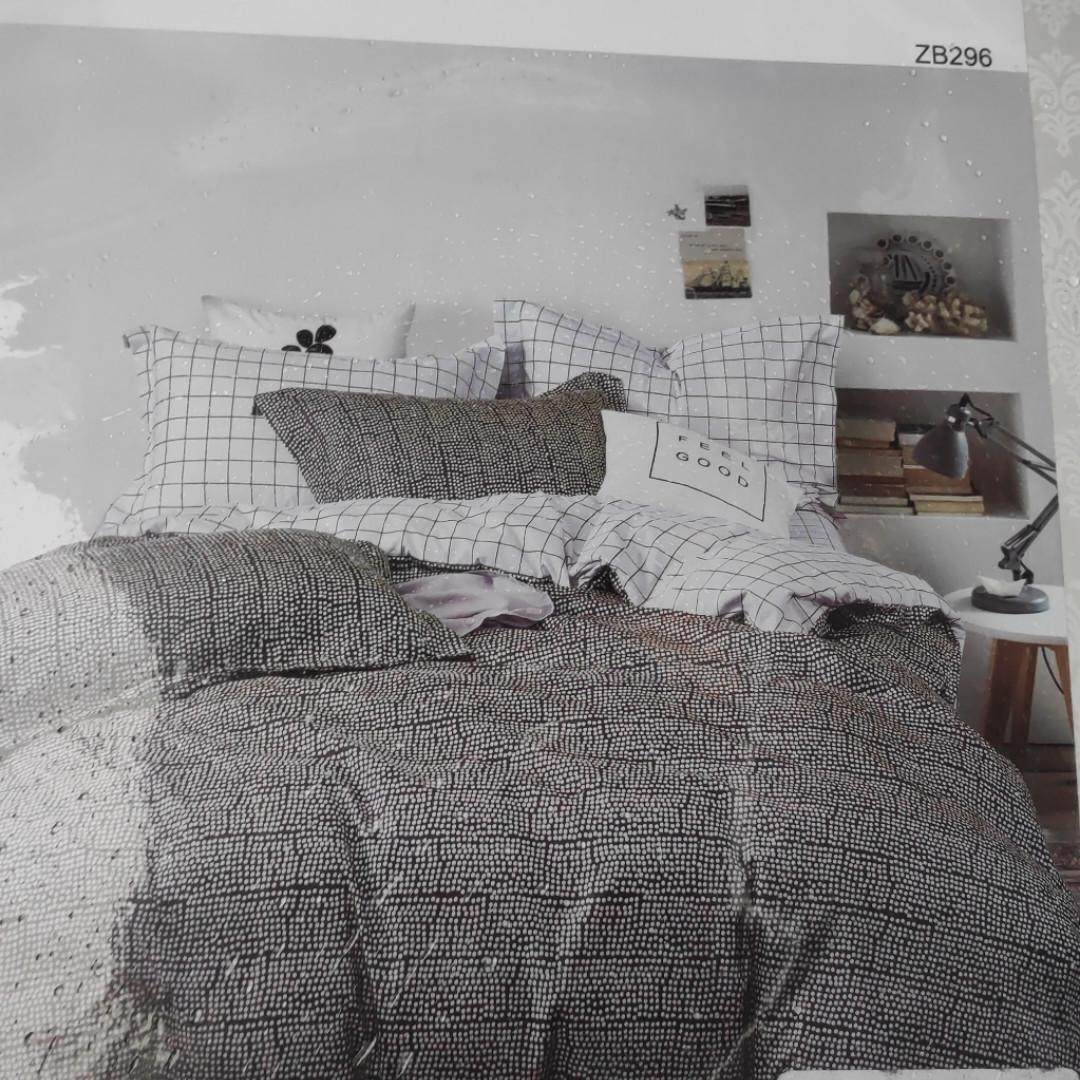 Двуспальное постельное бельё из 100 % хлопка