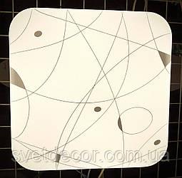 Светодиодный светильник Feron AL537 20w 4000К квадратный накладной