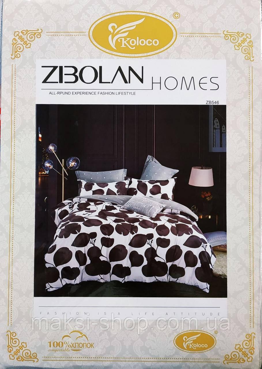 Двохспальный комплект постельного  Koloco байка (BЕ-0023)