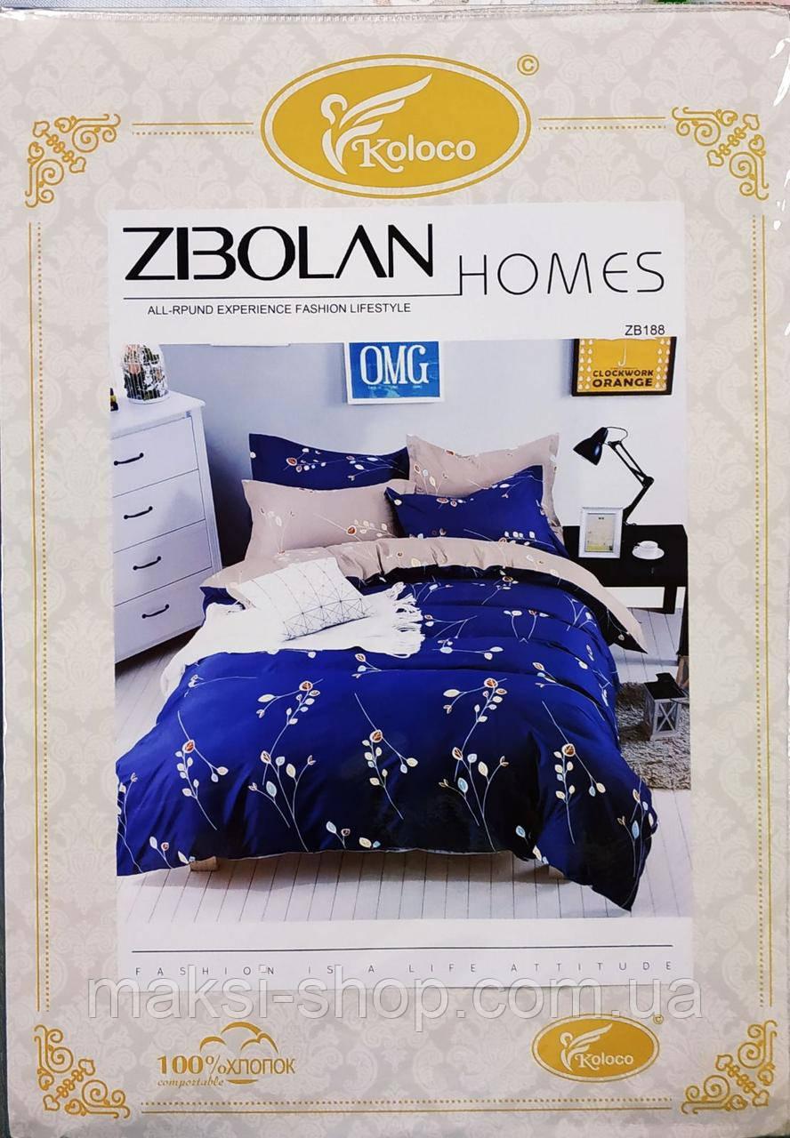 Двохспальный комплект постельного  Koloco байка (BЕ-024)